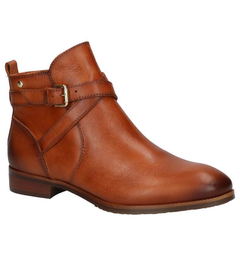 Pikolinos Royal Cognac Boots in leer (261463)