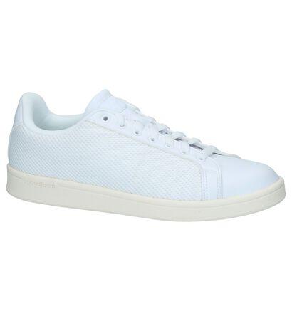 Witte Sneakers adidas Cloudfoam Advantage Clean, Wit, pdp