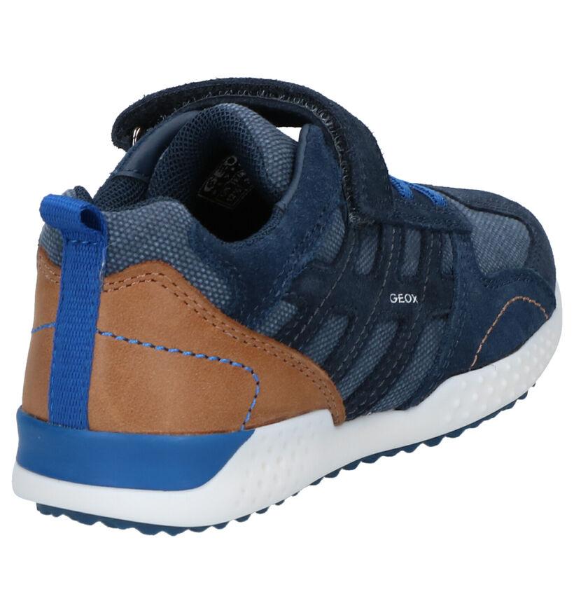 Geox Chaussures basses en Bleu foncé en daim (265798)