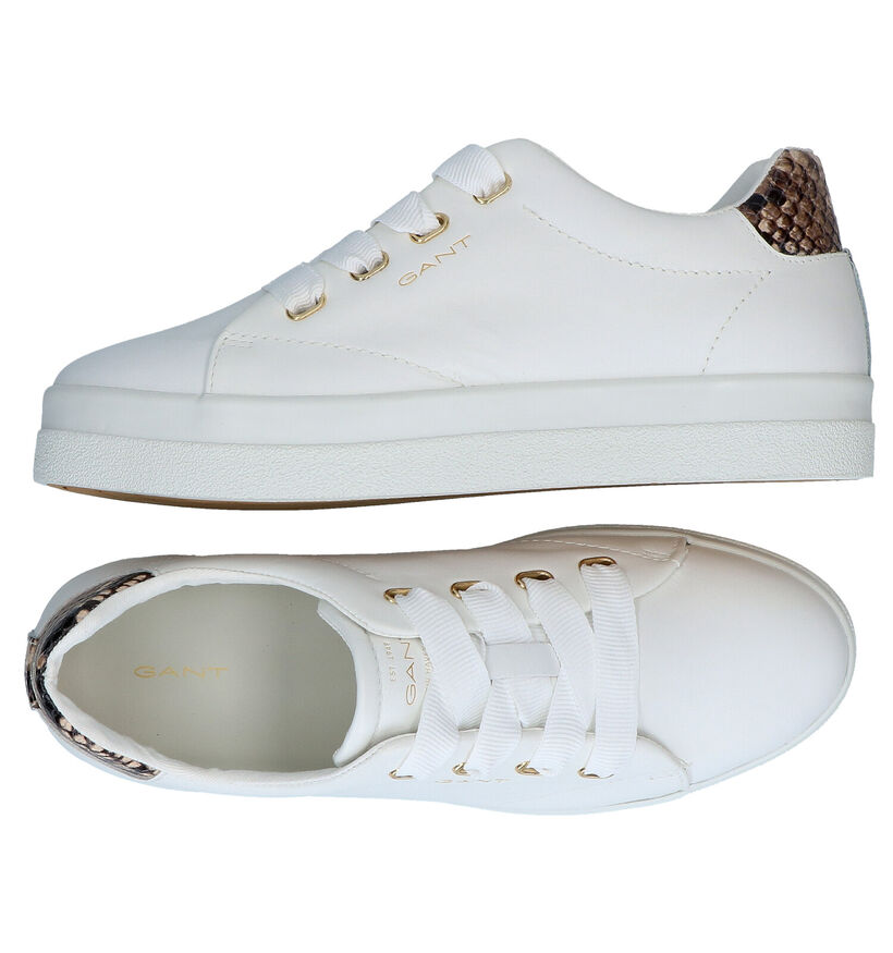 Gant Avona Witte Sneakers in leer (287485)
