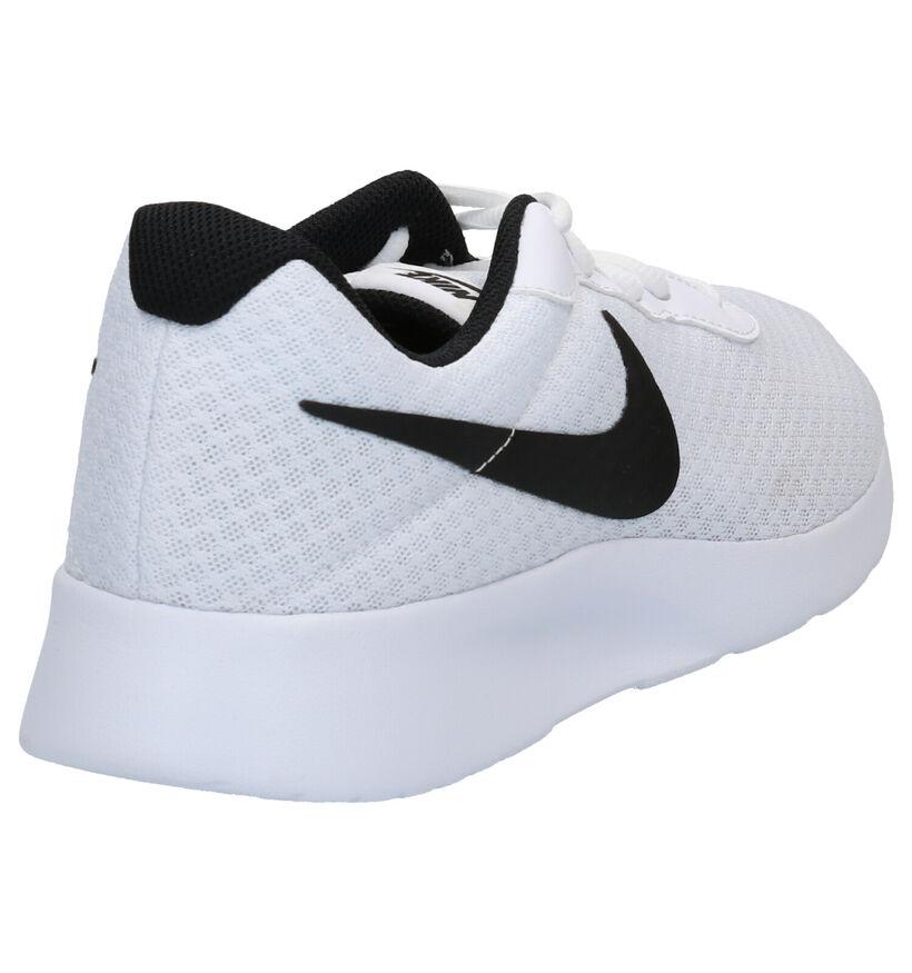 Nike Tanjun Baskets en Noir en textile (283889)