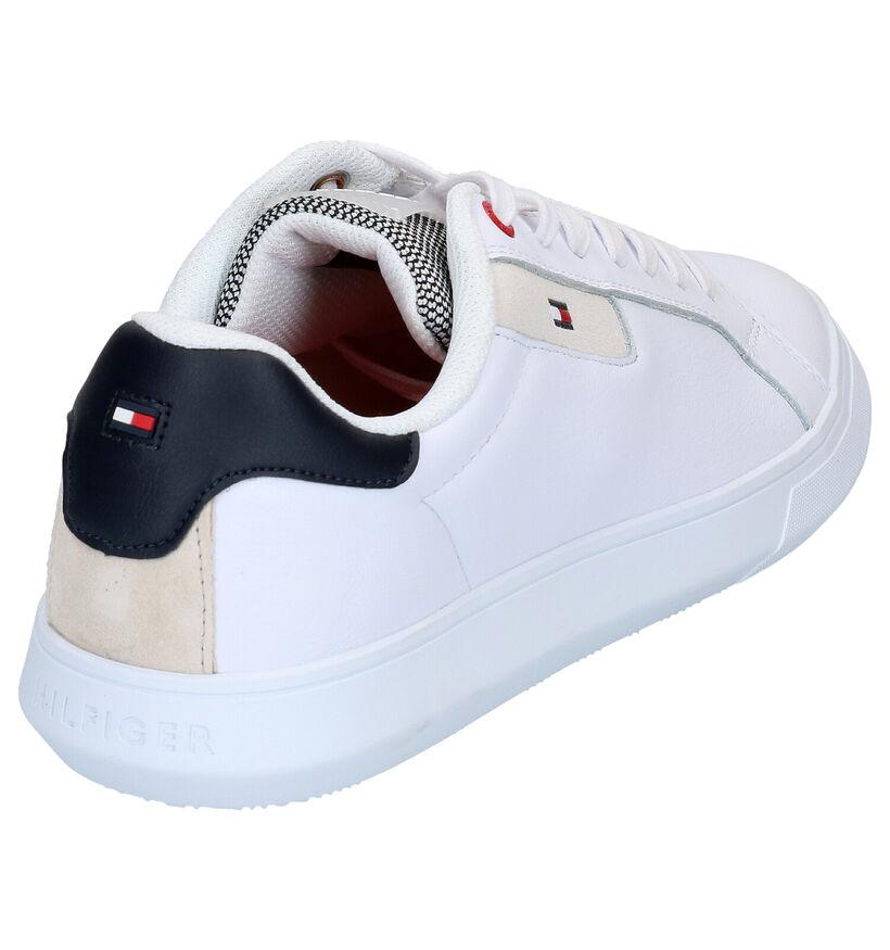 Tommy Hilfiger Baskets basses en Blanc en cuir (264961)