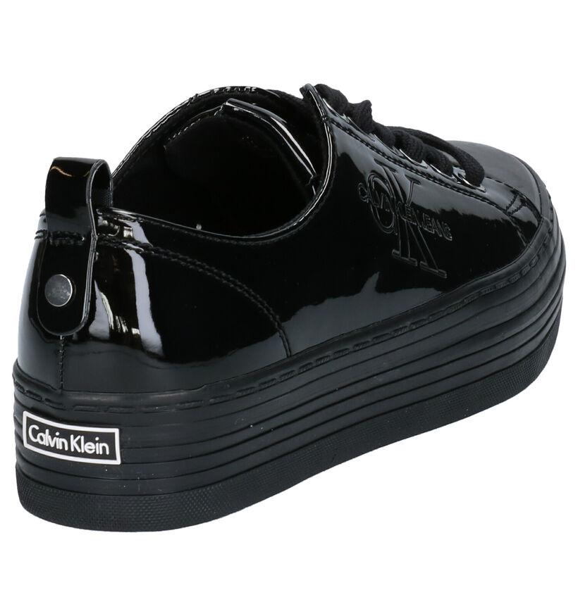 Calvin Klein Zolah Chaussures à lacets en Noir en simili cuir (255817)