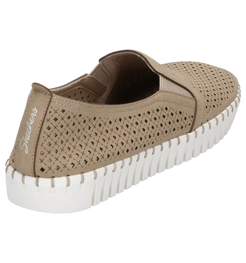 Zwarte Instappers Skechers Memory Foam in stof (272712)