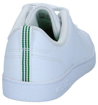 Witte Sneakers adidas VS Advantage Clean in kunstleer (264225)