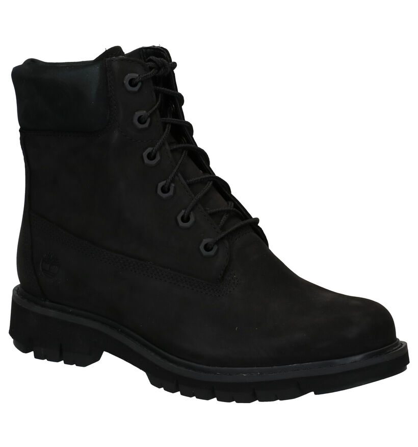 Timberland Lucia Way 6 Inch WP Boot Zwart in nubuck (277652)