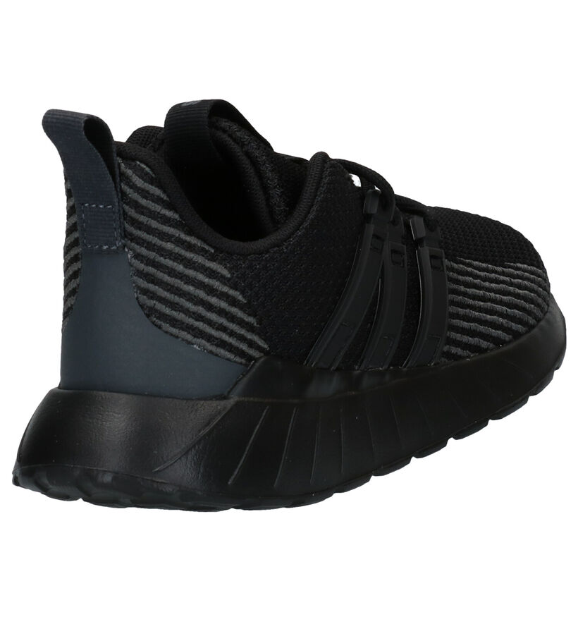 adidas Questar Flow Baskets en Noir en textile (273497)