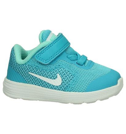 Nike Revolution Babysneakers Turquoise in stof (198100)