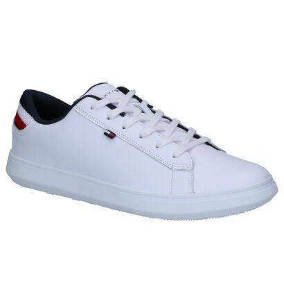 Tommy Hilfiger Essential Baskets en Blanc en cuir (252673)