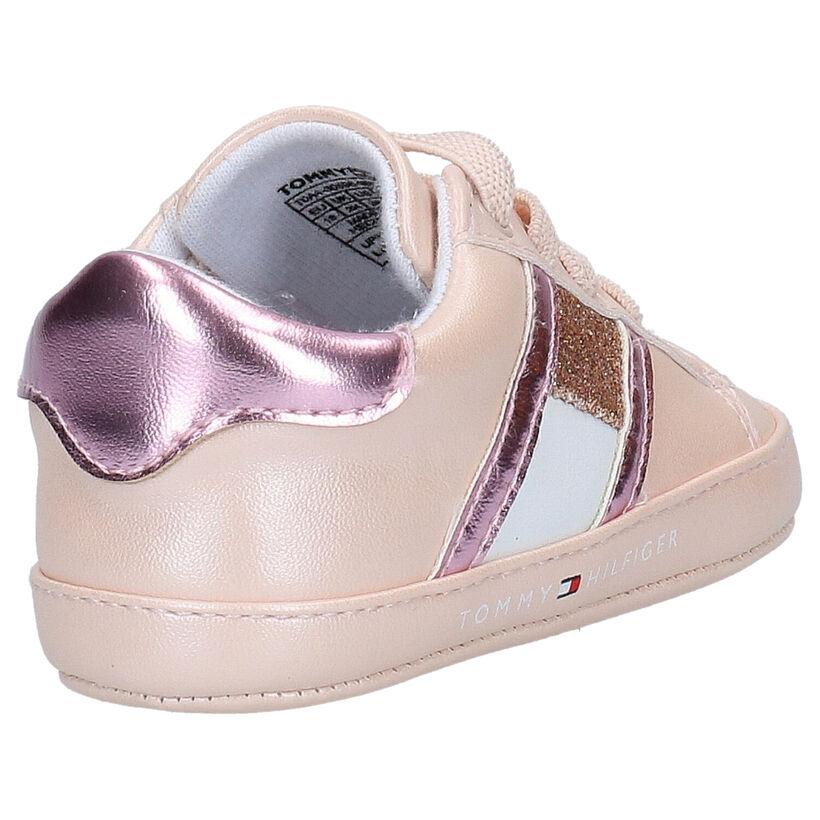 Tommy Hilfiger Roze Babyschoentjes in kunstleer (266570)