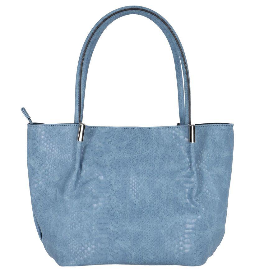 BOO! Sacs à bandoulière en Bleu foncé en simili cuir (215370)