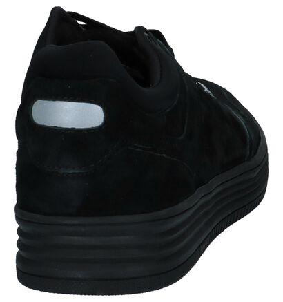 Sneakers Björn Borg Zwart in daim (226286)