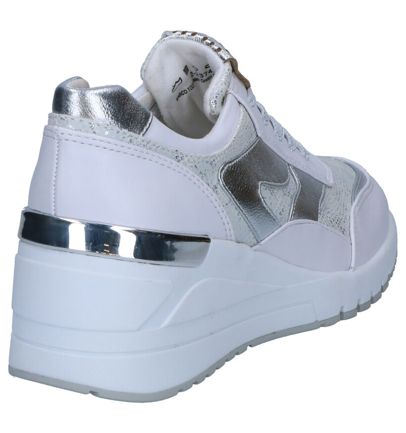 Marco Tozzi Baskets basses en Blanc en simili cuir (270667)