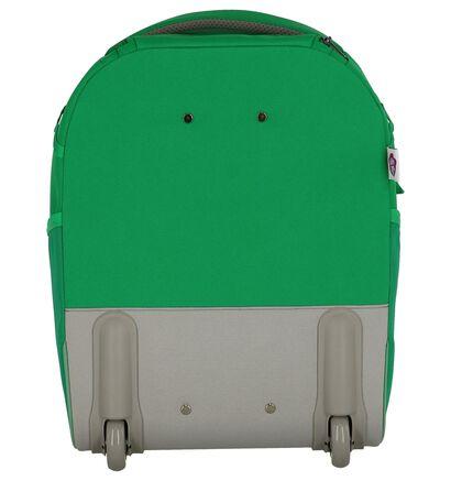 Groene Trolley Affenzahn Finn Frog in stof (251789)