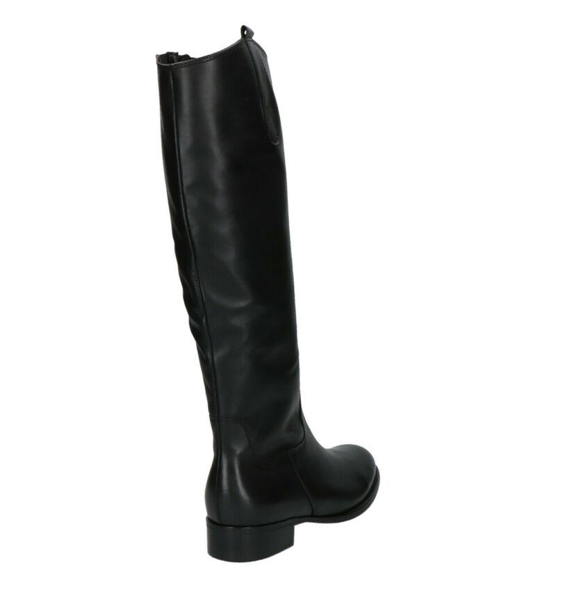 Gabor Bottes en Noir en cuir (260251)
