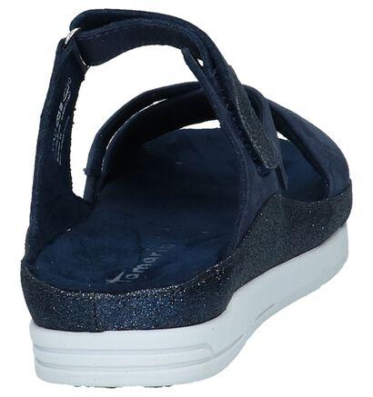 Tamaris Nu-pieds à talons  (Bleu foncé), Bleu, pdp