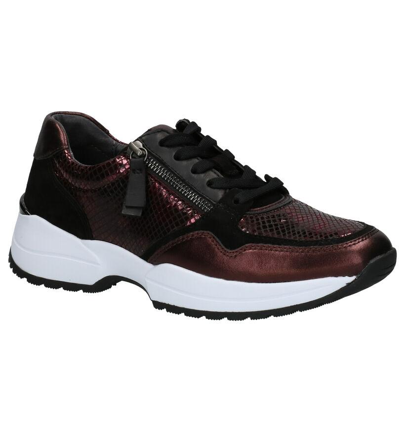 Gabor Comfort Chaussures basses en Rose en cuir (260089)