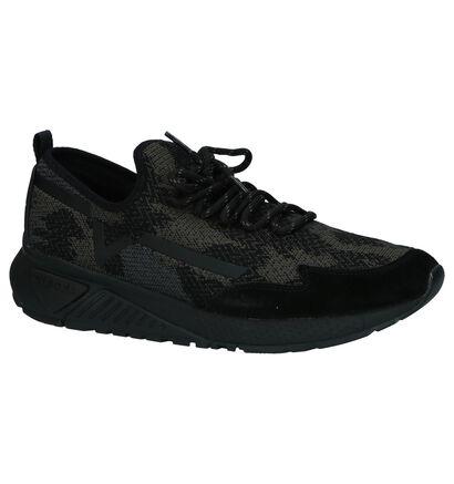 Lage Sportieve Sneakers Zwart Diesel in stof (208665)