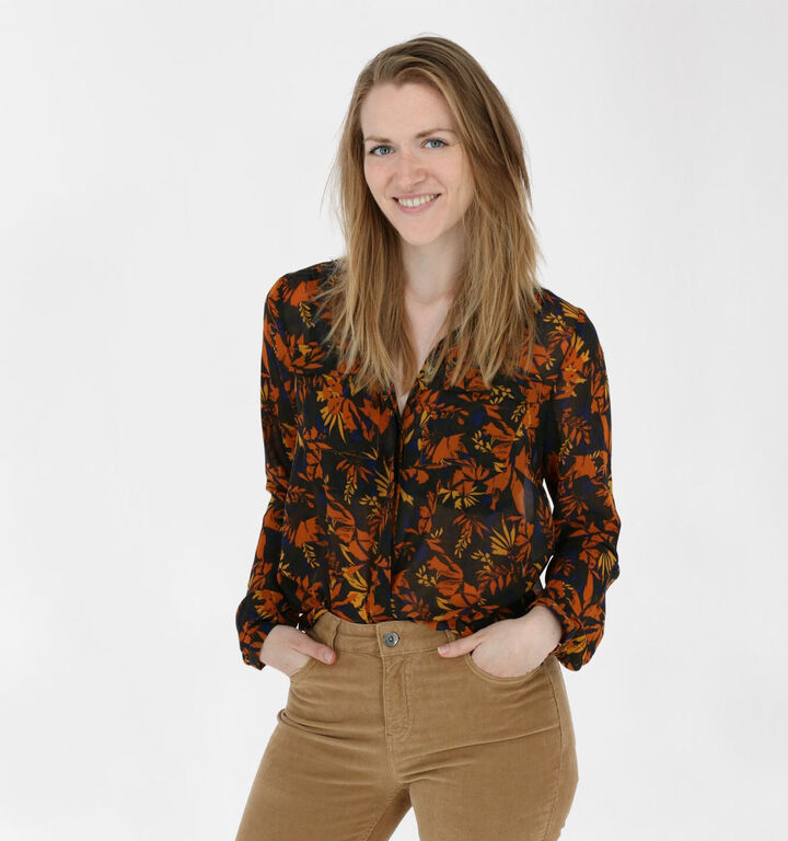 Vila Blouse Multicolore