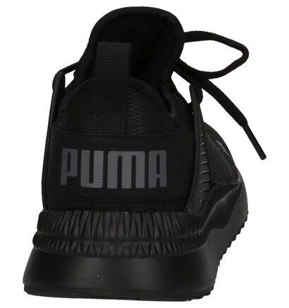Puma Baskets basses en Noir en textile (209964)