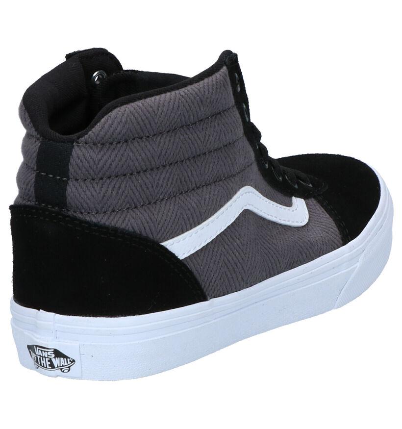 Vans Ward Sneakers Zwart in stof (264174)