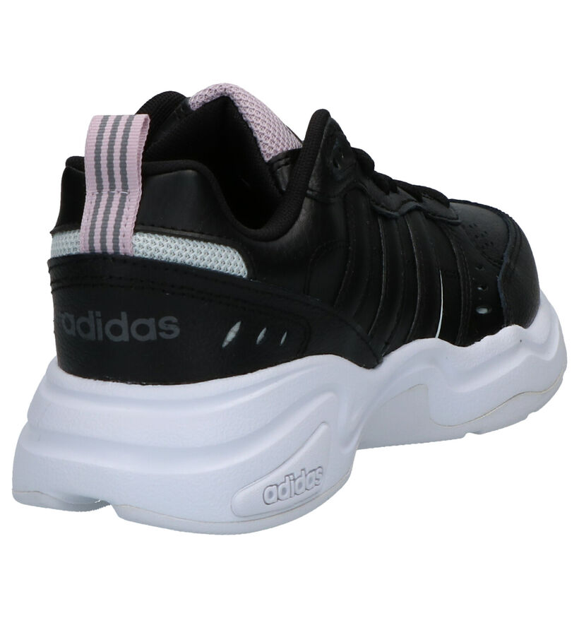 adidas Strutter Baskets en Noir en simili cuir (261841)