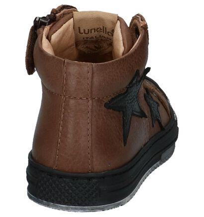 Lunella Chaussures hautes en Marron en cuir (223025)