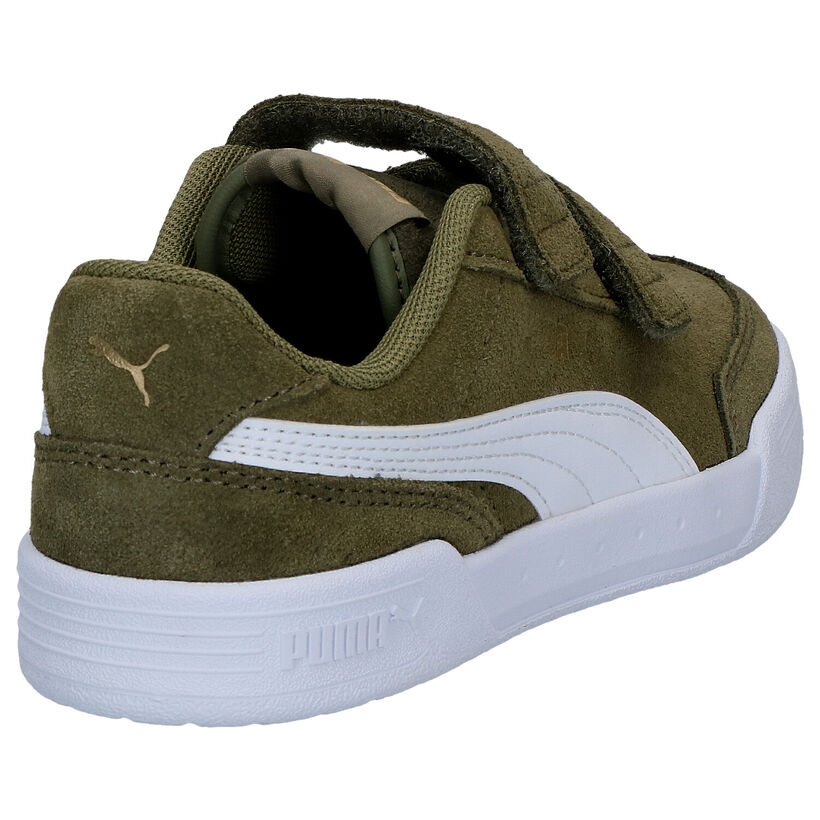 Puma Caracal Zwarte Sneakers in daim (276783)