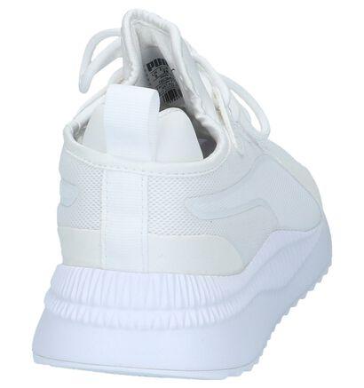 Witte Runner Sneakers Puma Pacer Next in kunstleer (209966)