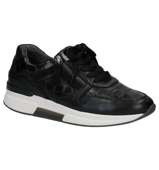Gabor Rollingsoft Chaussures à Lacets en Noir