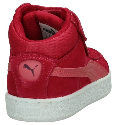 Puma Baskets hautes  (Rose fuchsia), Rose, pdp