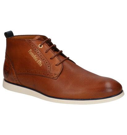 Pantofola d'Oro Lugo Mid Cognac Geklede Boots in leer (257391)