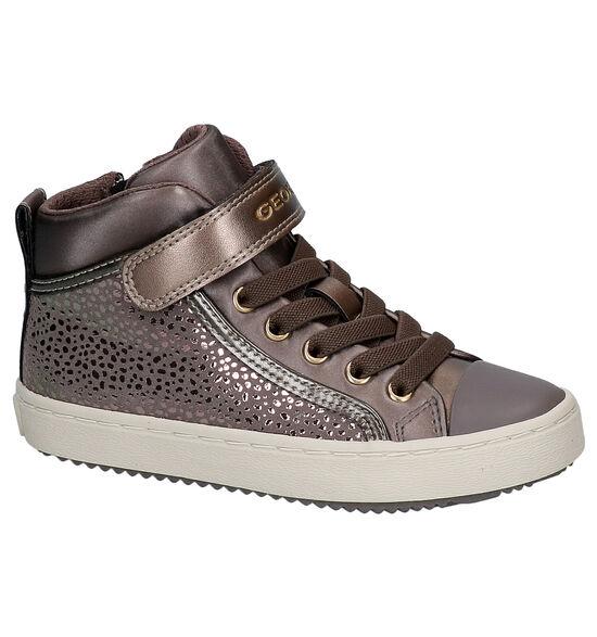 Geox Chaussures hautes en Bronze