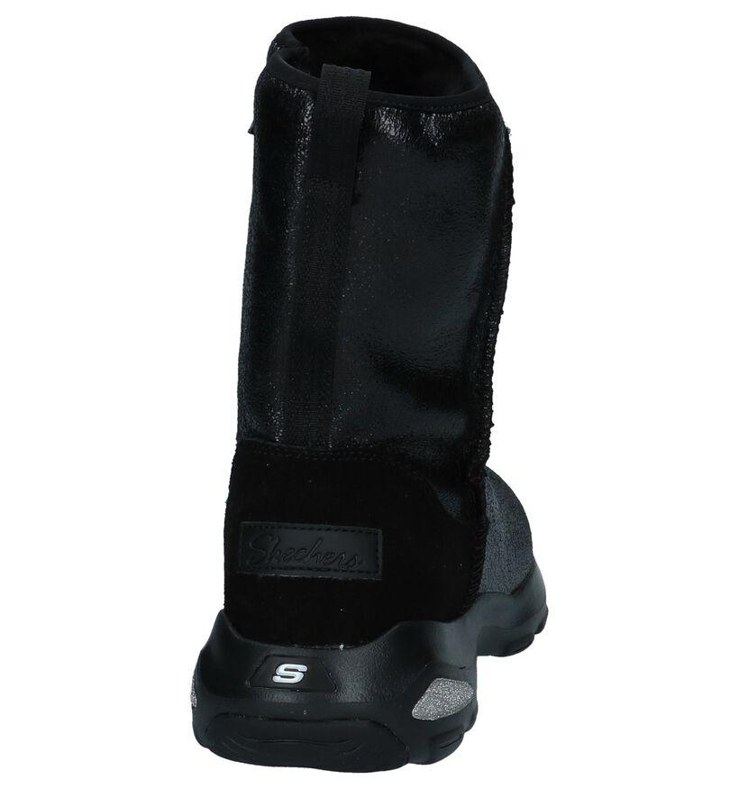 Zwarte Boots Skechers D'Lite Ultra in kunstleer (225934)