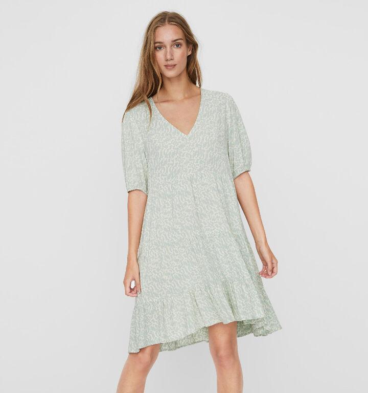Vero Moda Ohanna Robe en Vert
