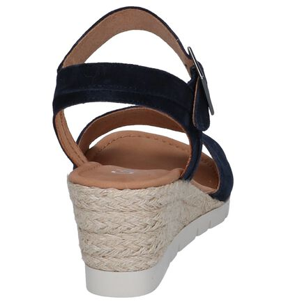 Taupe Sandalen Gabor Comfort , Blauw, pdp