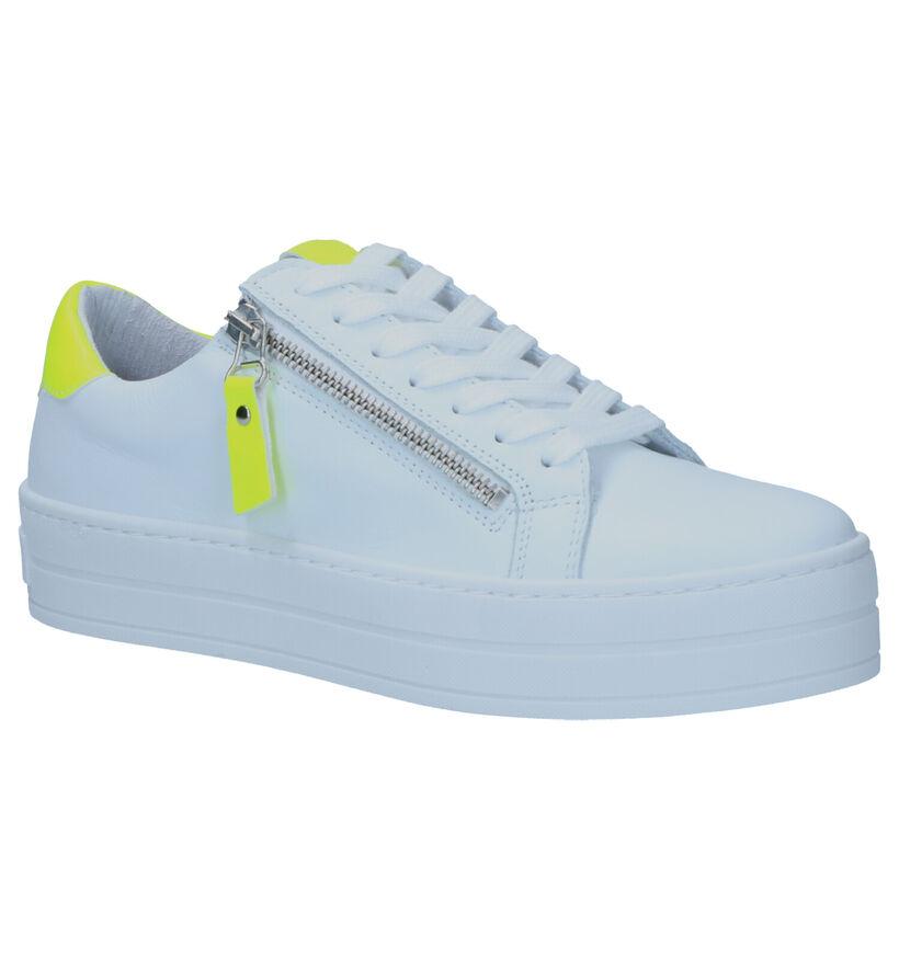 SPM Pomme Witte Sneakers in leer (265218)