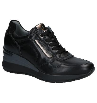 NeroGiardini Chaussures à lacets en Noir en cuir (259804)