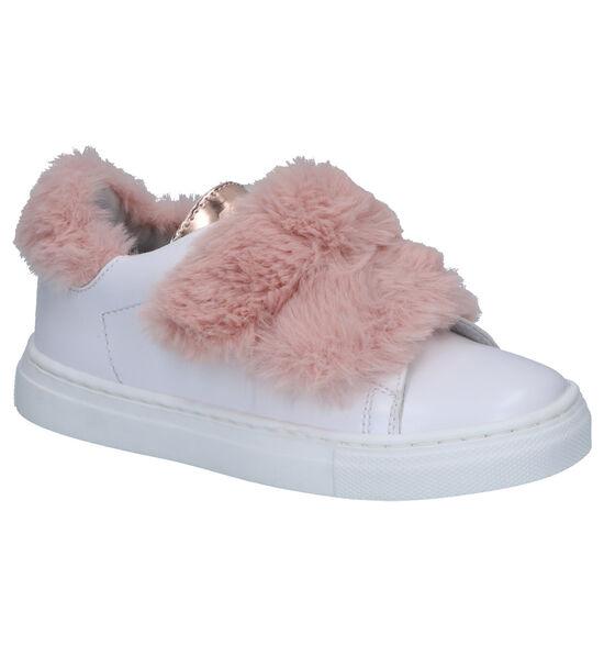 K3 Witte Sneakers met Velcro's