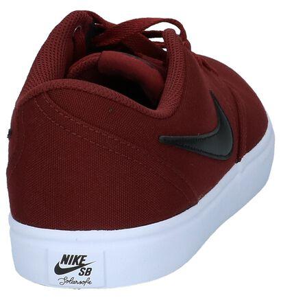 Zwarte Sneakers Nike SB Check Solar , Bordeaux, pdp