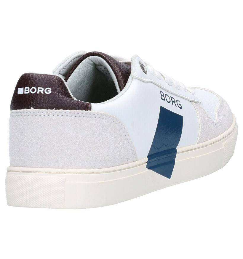 Björn Borg Zwarte Sneakers in kunstleer (260542)