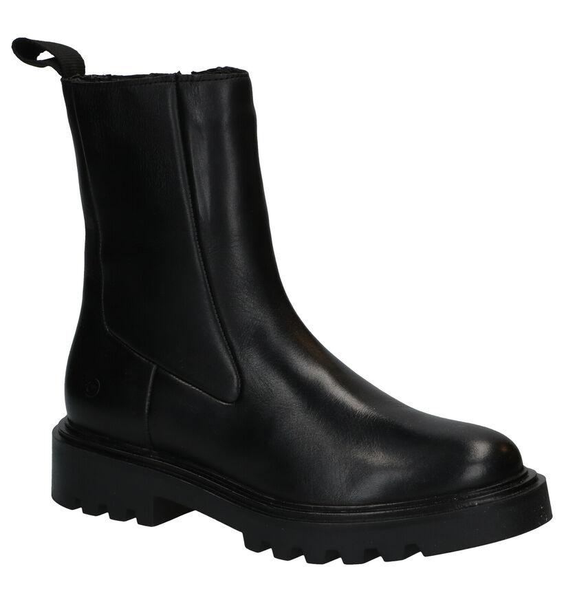 Tamaris Bottines en Noir en cuir (286037)