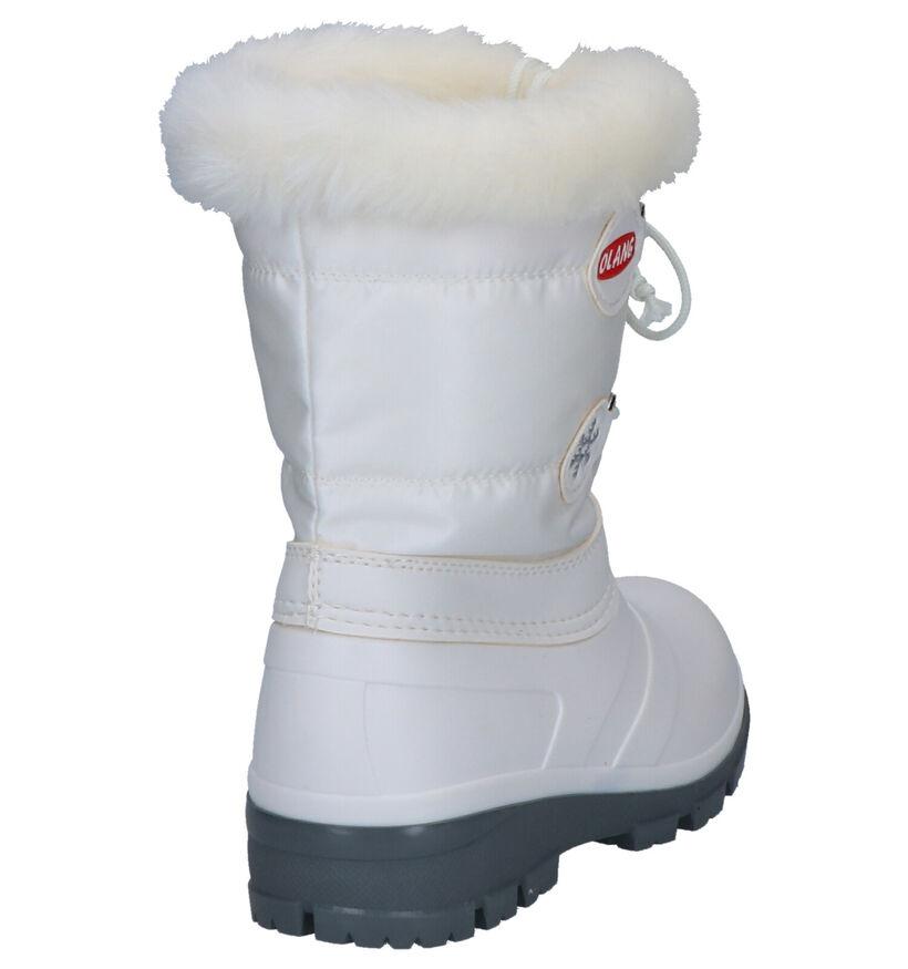 Olang Bottes de neige en Blanc en caoutchouc (263935)