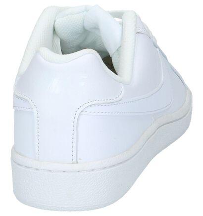 Nike Court Royale Baskets basses en Blanc en cuir (234111)