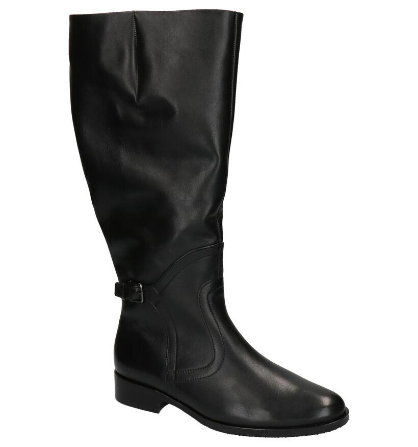 Gabor Bottes en Noir en cuir (261720)