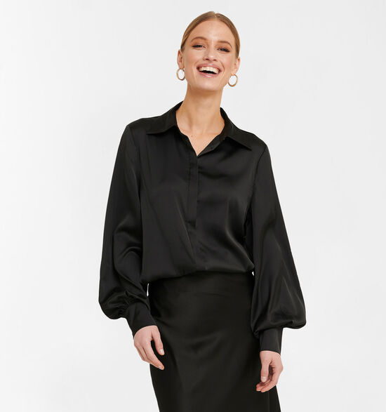 NA-KD Zwart Hemd