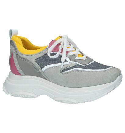 Poelman 90's Sneakers Meerkleurig, Grijs, pdp
