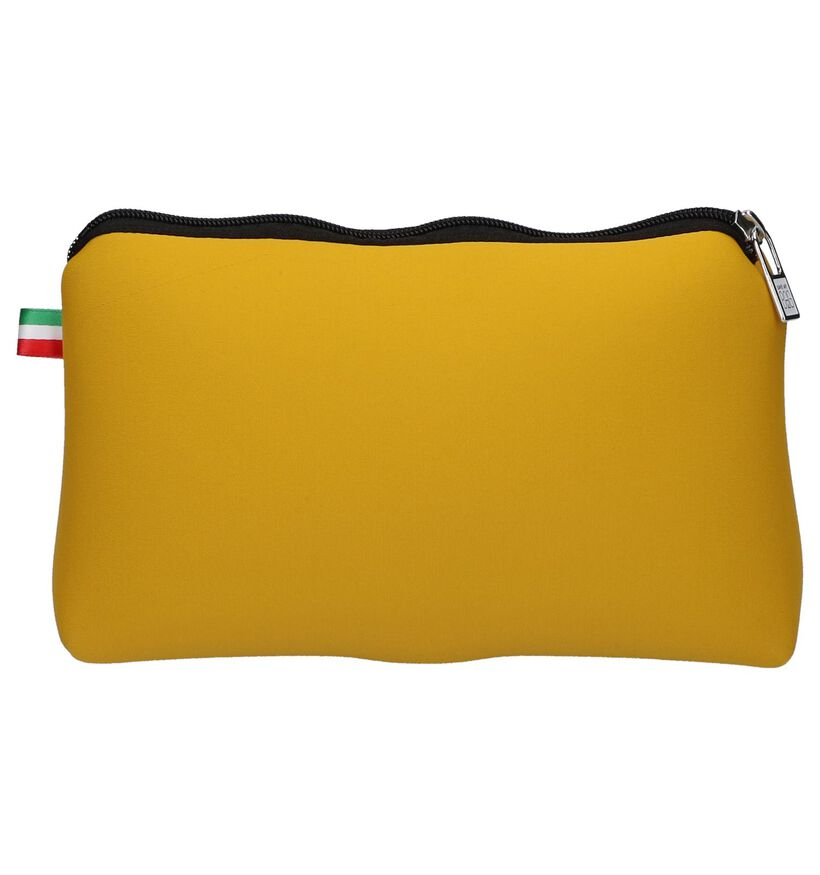 Save My Bag Travel Pouch Geel Make-up Tasje in stof (245817)
