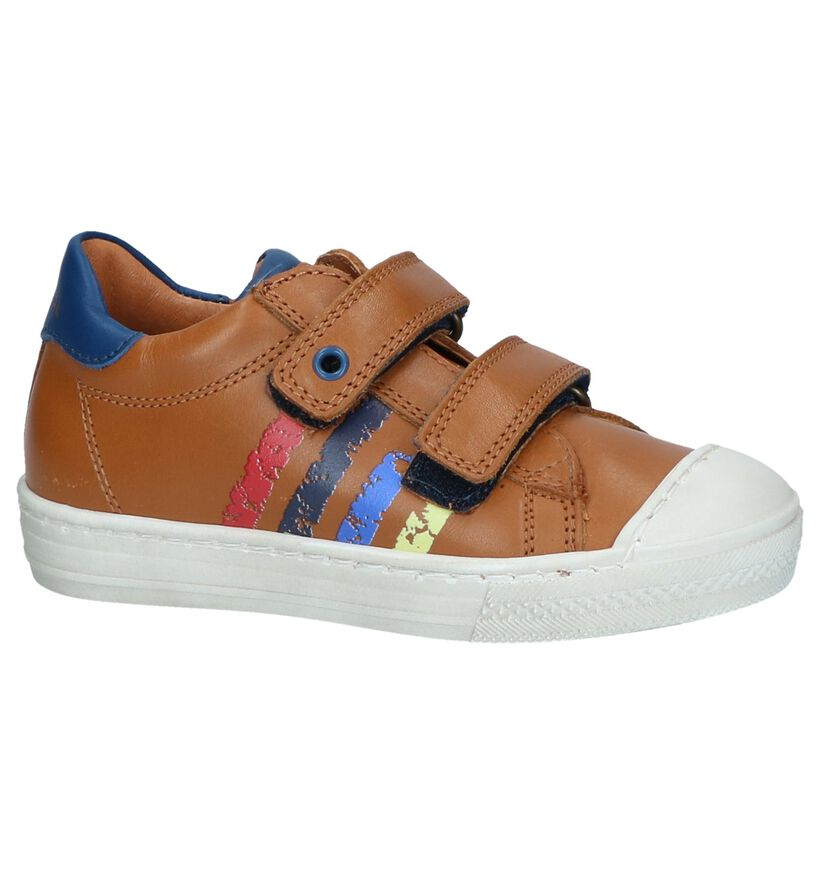 STONES and BONES Chaussures basses en Cognac en cuir (245650)