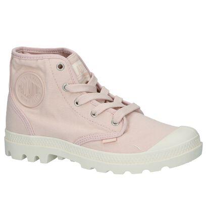 Lichtgrijze Sneakers Palladium Pampa Hi, Roze, pdp